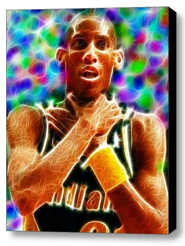 WOW Magical Indiana Pacers Reggie Miller Choke Print Limited Edition , Posters, Prints & Pictures - Artist Paul Van Scott, Final Score Products