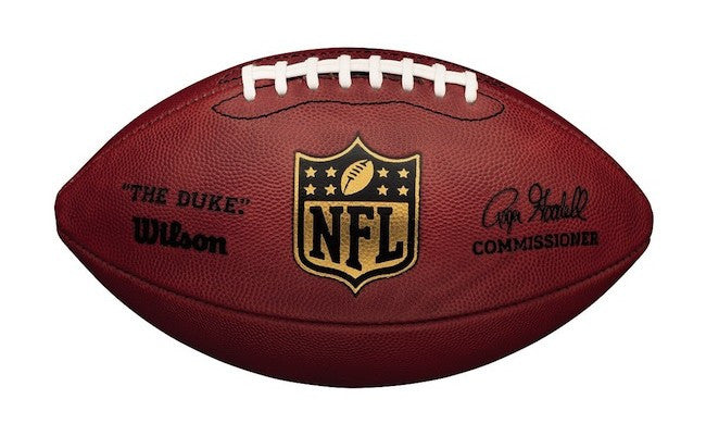 Game used New England Patriots Football. ,  - Final Score Products, Final Score Products