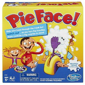 Pie Face Game by HASBRO , board game - Hasbro, Final Score Products  - 1