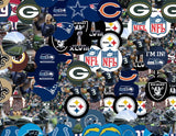 Seattle Seahawks logo NFL button Mosaic INCREDIBLE , Sports Collectibles - Final Score Products, Final Score Products  - 2