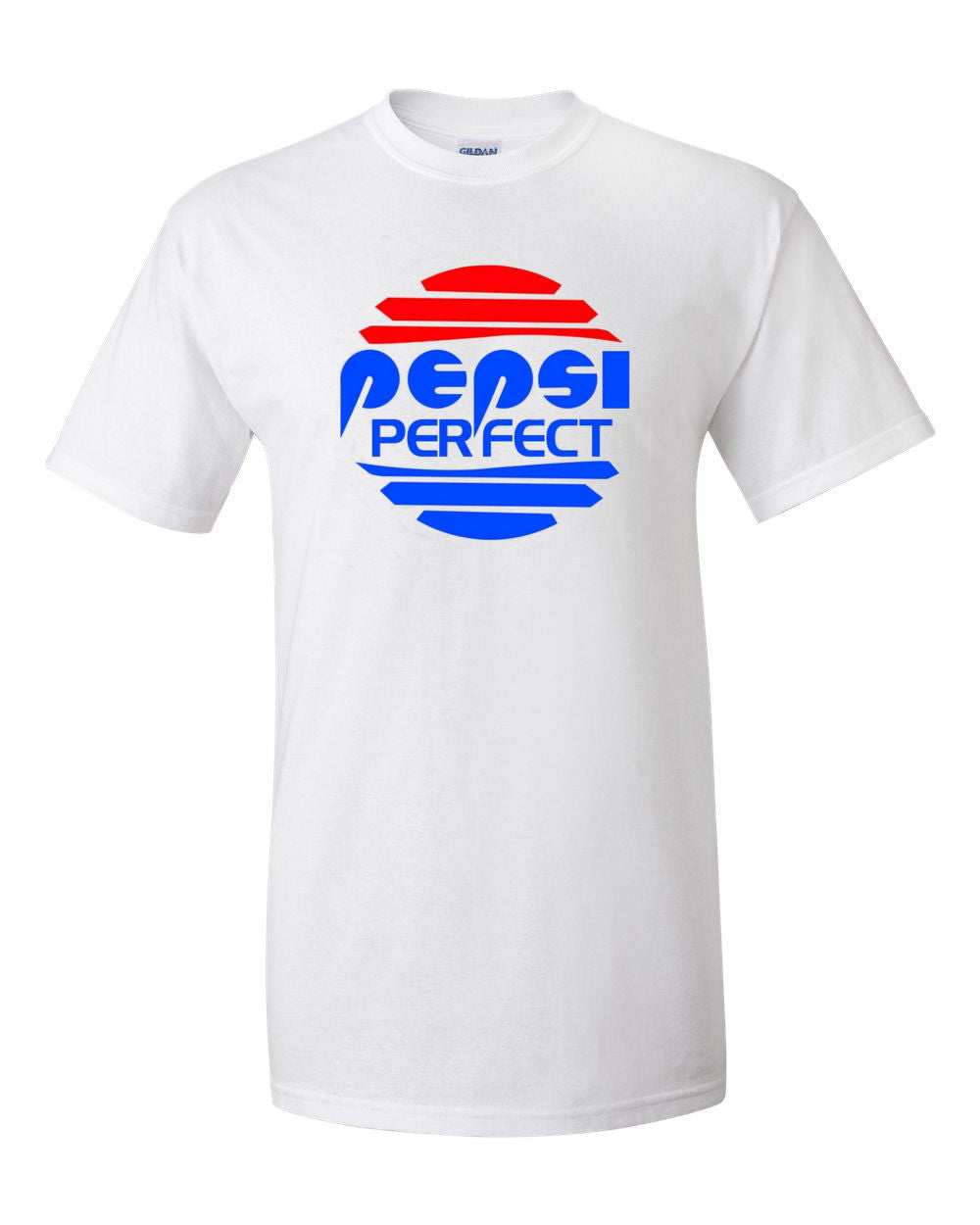 Back To The Future PEPSI PERFECT Gildan 2000 Ultra Cotton™ T-Shirt Sizes small to 5XL , Shirts - Final Score Products, Final Score Products  - 1