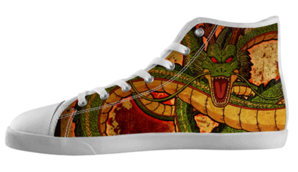 Dragon Ball Z Video Game High Top Shoes Mens Womens Kids , Shoes - Final Score Products, Final Score Products  - 1