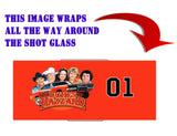 The Dukes Of Hazzard Car 01 Ceramic Limited Edition Shot Glass