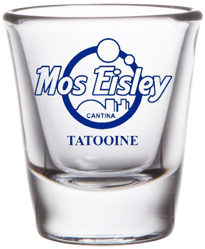Star Wars Mos Eisley Cantina on Tatooine  Promo Shot Glass LIMITED EDITION