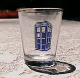 Dr. Doctor Who Tardis Promo Shot Glass LIMITED EDITION , Shot Glass - Final Score Products, Final Score Products  - 2