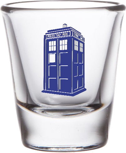 Dr. Doctor Who Tardis Promo Shot Glass LIMITED EDITION , Shot Glass - Final Score Products, Final Score Products  - 1
