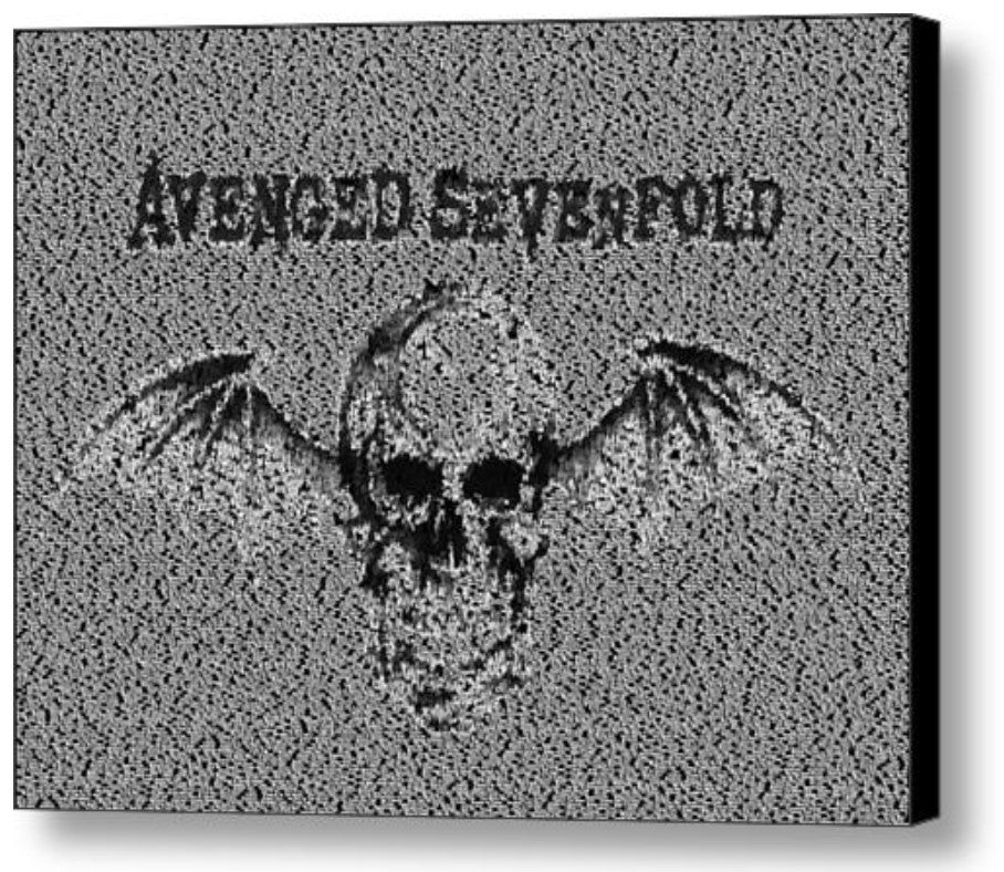 Avenged Sevenfold Song List INCREDIBLE Mosaic Print Limited Edition
