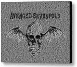 Avenged Sevenfold Song List INCREDIBLE Mosaic Print Limited Edition , Posters, Prints & Pictures - Artist Paul Van Scott, Final Score Products  - 1