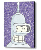 Futurama Bender Quotes Mosaic INCREDIBLE Framed or unframed Limited Edition Art Print , Posters, Prints & Pictures - Artist Paul Van Scott, Final Score Products  - 1