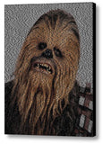 Limited Edition Chewbacca Star Wars Terms Text Mosaic INCREDIBLE , Movie Memorabilia - Final Score Products, Final Score Products  - 1