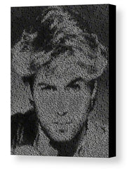George Michael Wham! Song List Mosaic Print Limited Edition , Posters, Prints & Pictures - Artist Paul Van Scott, Final Score Products  - 1