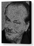 Jack Nicholson Real Quotes Mosaic Print Limited Edition , Posters, Prints & Pictures - Artist Paul Van Scott, Final Score Products  - 1