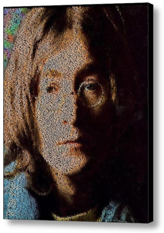 John Lennon Imagine Lyrics Mosaic INCREDIBLE