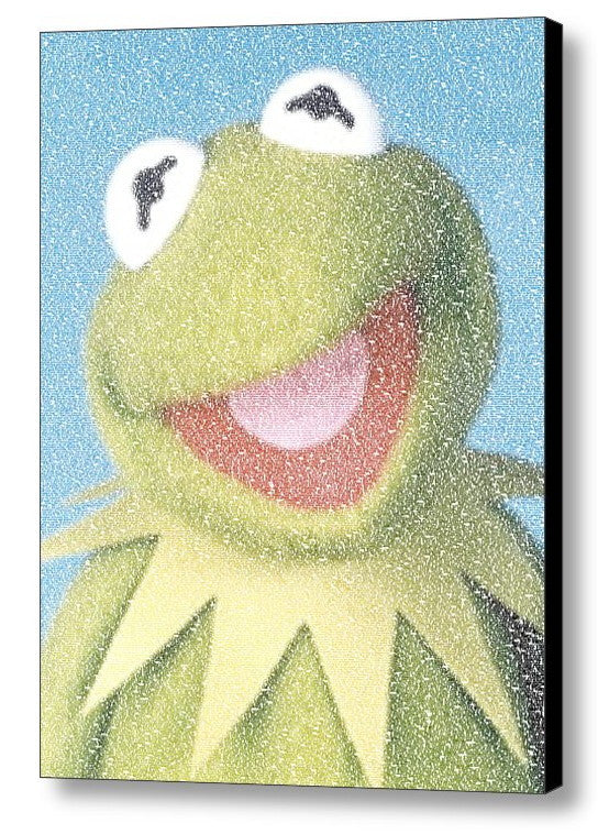 Kermit The Frog Muppets Quotes Mosaic INCREDIBLE , Movie Memorabilia - Final Score Products, Final Score Products  - 1