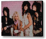 Motley Crue Girls, Girls, Girls Lyrics Mosaic Print Limited Edition , Posters, Prints & Pictures - Artist Paul Van Scott, Final Score Products  - 1