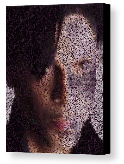 Incredible Prince Song List Mosaic Print Limited Edition
