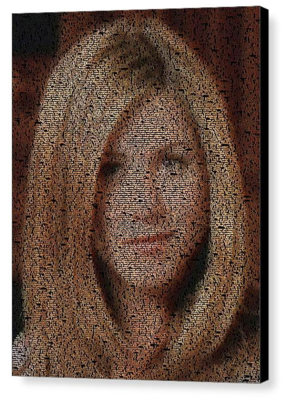 FRIENDS TV Show Rachel Green Quotes Mosaic INCREDIBLE , Movie Memorabilia - Final Score Products, Final Score Products  - 1
