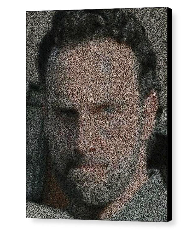 Amazing The Walking Dead Rick Grimes Quotes Mosaic INCREDIBLE , Sports Collectibles - Final Score Products, Final Score Products  - 1