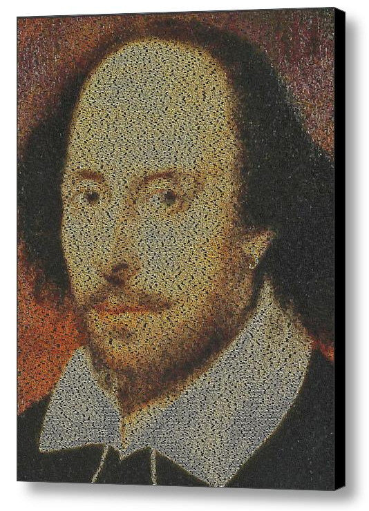 William Shakespeare Plays Mosaic INCREDIBLE