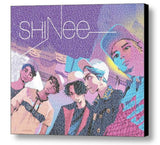 SHINEE Band Members and Albums List Mosaic Print Limited Edition , Posters, Prints & Pictures - Artist Paul Van Scott, Final Score Products  - 1
