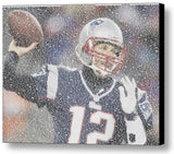 New England Patriots Tom Brady Quotes Mosaic INCREDIBLE , Sports Collectibles - Final Score Products, Final Score Products  - 1