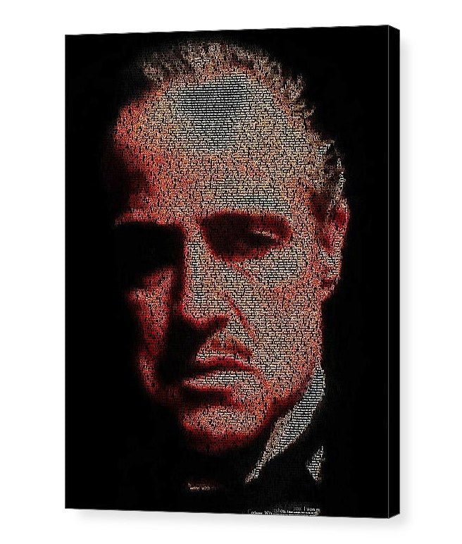 Vito Corleone The Godfather Quotes Mosaic INCREDIBLE , Superhero - Final Score Products, Final Score Products  - 1