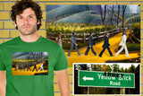 The Wizard Of Oz Follow The Yellow Brick Abbey Road Beatles Shirt. 5 colors! , Shirts - Final Score Products, Final Score Products  - 1