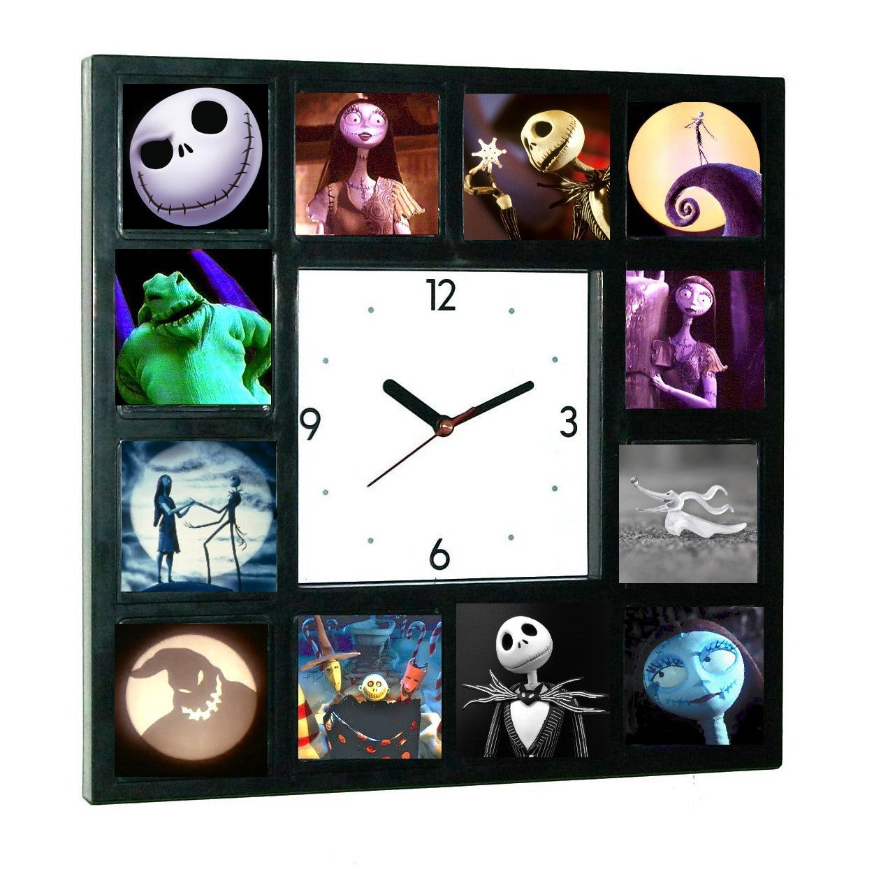 The Nightmare Before Christmas Glow In The Dark 12 Clock numbered LIMITED EDITION , Watches & Clocks - n/a, Final Score Products  - 1
