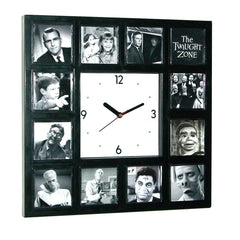 BIG The Twilight Zone Clock with classic episode scenes , Watches & Clocks - n/a, Final Score Products