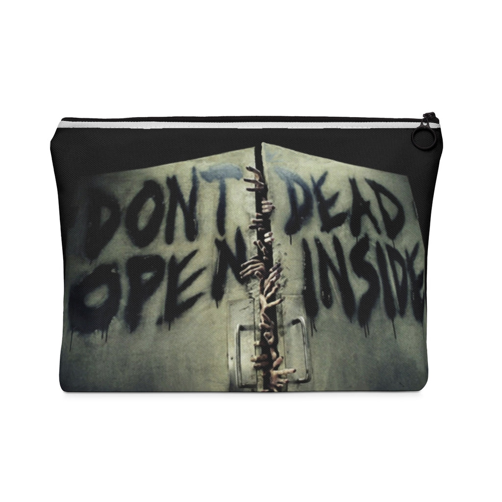 The Walking Dead Don't Open Dead Inside Carry All Pouch - Flat