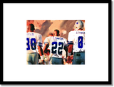 Framed/Unframed Dallas Cowboys Triplets print , Poster - Merchify.com, Final Score Products  - 2