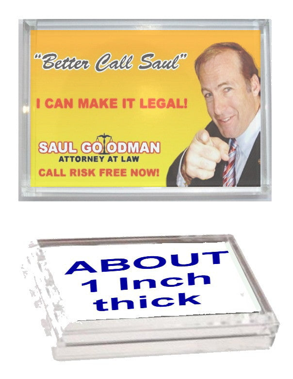 Better Call Saul Goodman Breaking Bad Executive Display Desk Top Paperweight , TV Memorabilia - Final Score Products, Final Score Products