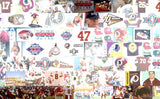 Washington Redskins Sean Taylor Mosaic Print Limited Edition , Posters, Prints & Pictures - Artist Paul Van Scott, Final Score Products  - 2