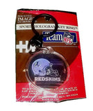 Washington Redskins Hologram Keychain Keyring bag tag , Football-NFL - n/a, Final Score Products  - 2