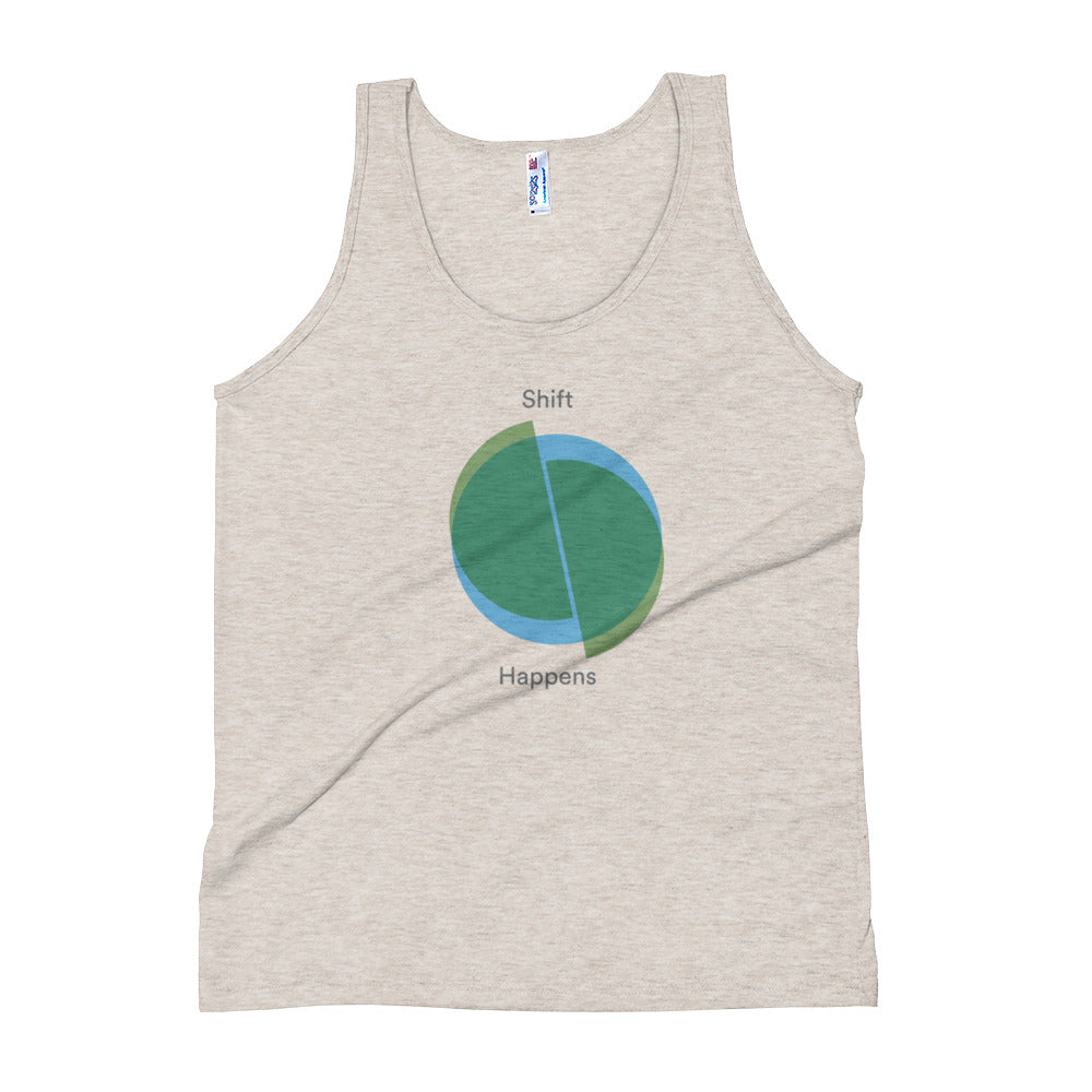 Shift Happens Unisex Tank Top