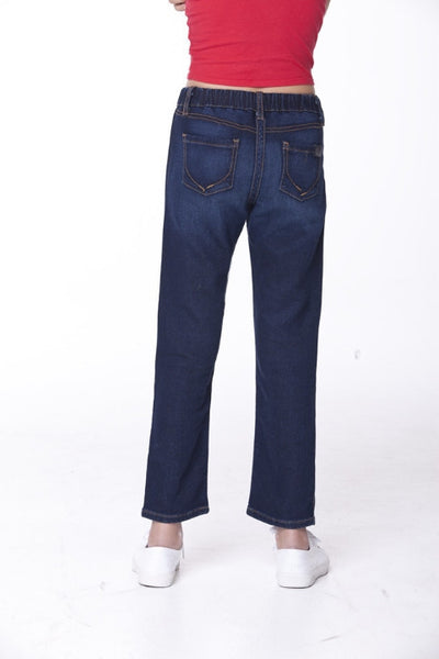 Kids Sensory Jeans Back View