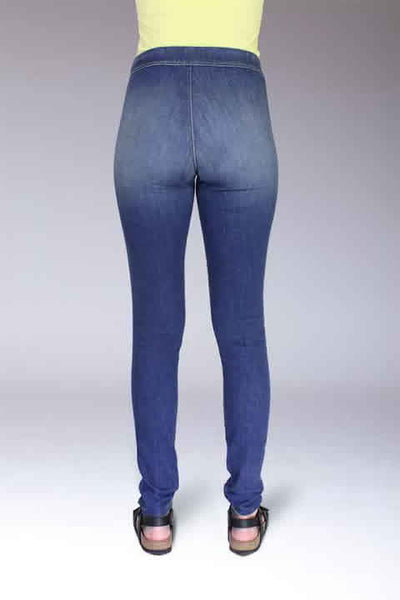 ADAPTIVE LEGGING LIGHT STRETCH DENIM