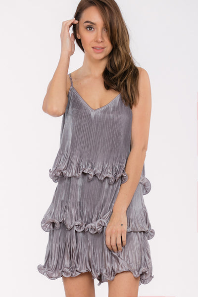 3 Tier ruffle dress