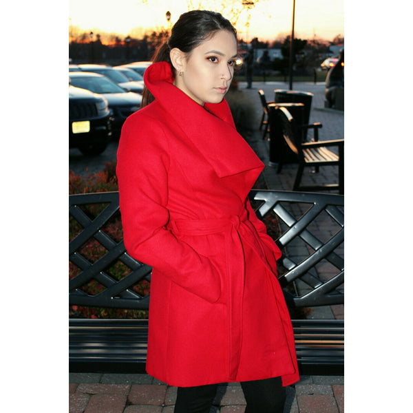 Candy Apple Coat