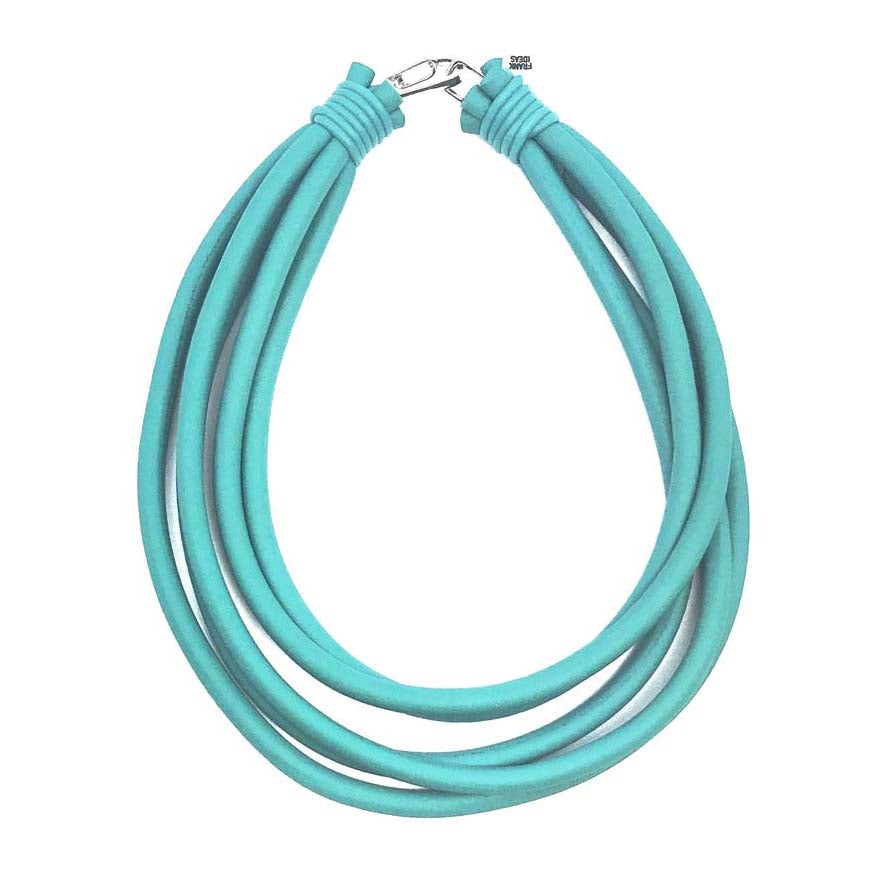 5 strand rubber necklace
