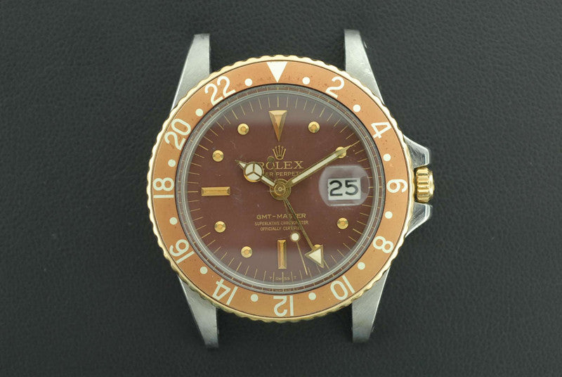 Rolex 1975 Oyster Perpetual Date GMT-Master Ref Chronometer Stainless Steel - SOLD