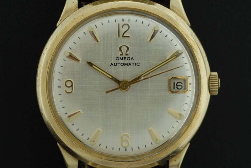 Omega 1964 10Kt. Gold filled bezel automatic watch - SOLD