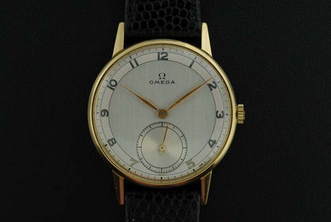 Omega 1944 18Kt. yellow gold with famous caliber 30T2
