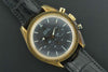 Omega 1985 Speedmaster chronograph 18Kt. yellow gold  wrist watch.