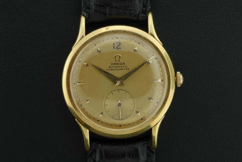Omega 1944 Rare Automatic Chronometer in 18KT yellow gold - SOLD