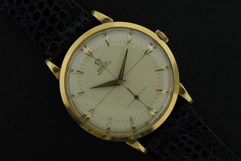 Omega 1950 Classic in 18KT yellow gold case - SOLD