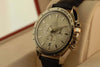 Omega Speedmaster automatic chronometer white gold watch