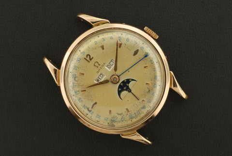 Omega 1947 vintage watch, gold plated - SOLD