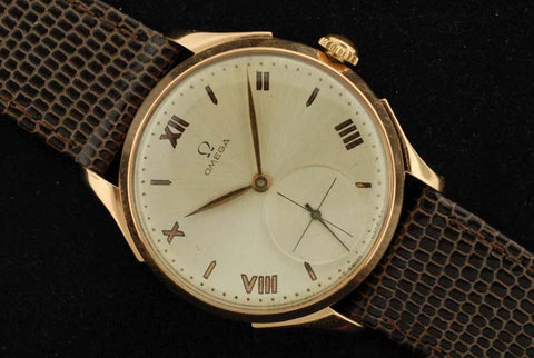Omega 1944 18Kt. yellow gold vintage watch - SOLD