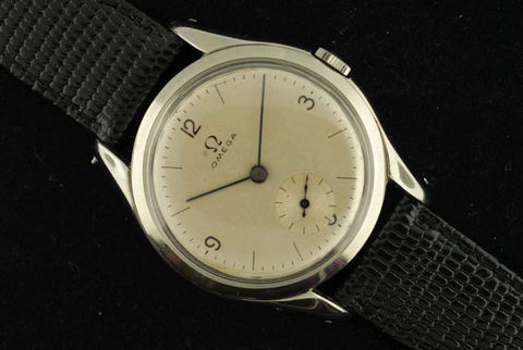 Omega 1920 stainless steel vintage watch